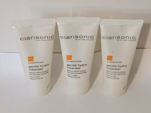 Lot of 3 Clarisonic Gentle Hydro Cleanser Travel Size 1oz Each