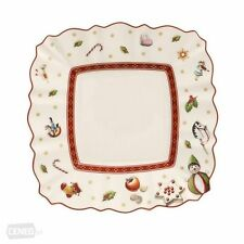Villeroy & and Boch TOY'S DELIGHT square white side / bread plate 17cm NWL NEW