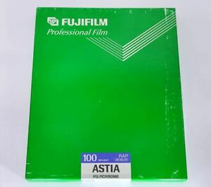 "【SEALED ""Expired in 2001-7""】FUJI FUJICHROME ASTIA 100 DAYLIGHT 8x10 (RAP) #687"