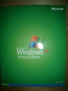 Microsoft Windows XP Home Edition 2002 version w/ Product Key & Win Disk