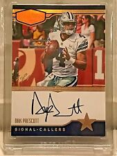 2016 Plates and Patches Dak Prescott 1 of 1 Signal Callers Auto Gold WOW!!!