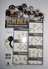 Pittsburgh Penguins 2015-16 Magnetic Schedule