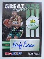 NBA HOOPS Ricky Pierce Great Significance #GS-RPI
