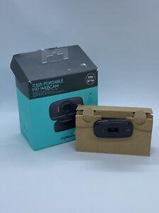 Logitech C525 HD Web-Kamera - integriertes Mikrofon Rauschunterdrückung