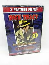 NEW DVD 2 Feature Films - DICK TRACY Meets Gruesome & Dilemma, total 2 hours