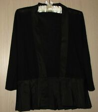 EFFETTO. F ITALY Cashmere Black Cardigan Sweater  Size US - M, I- 44/M, GB-12/M