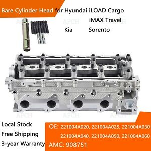 Cylinder Head for D4CB HYUNDAI iLOAD iMAX, KIA Sorento 125 kw 120 kw 908751