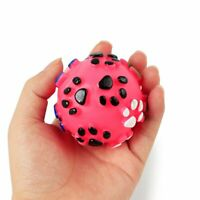 Pet Puppy Dog Squeaky Toy Fetch Ball Toys Bite Resistant Squeeze Chew Toy tw