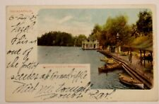1905 POSTCARD AQUATIC CLUB AT BROADRIPPLE INDIANAPOLIS INDIANA