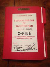 X-Files Imprint advance Excerpt Signed SDCC Exclusive comic 2016