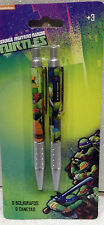 TARTARUGHE NINJA TURTLES PENNA SET 2 PENNE KIT 2 PEN SET SCUOLA