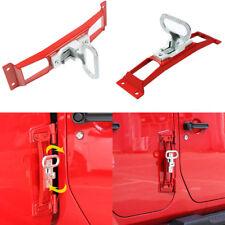 Metal Door Hinge Foot Rest Pedal Peg Folding Ladder Side Step For Jeep Wrangler