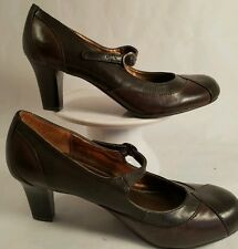 """MARY JANE STYLE PUMP """"NATURAL SOUL"""" BY NATURALIZER  US SIZE 6.5M MAN MADE MATERI"""