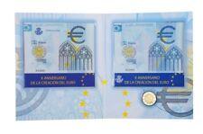 CARTERA ESPAÑA CORREOS 2009 MONEDA Y SELLO 10º ANIVERSARIO EURO