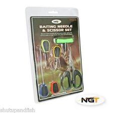 Carp Fishing Braid Scissors & Baiting Tool Set