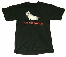 L7 Off The Wagon Black T Shirt XL New NOS Official GIANT Vintage Original Band
