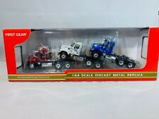 Mack Granite Truck Trio Set By First Gear 1/64th Scale