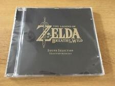 The legend of zelda: breath of the wild soundtrack cd-neuf-édition limitée