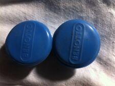 Benotto BLUE bar ends plugs Vintage  NOS Eroica 70s 80s