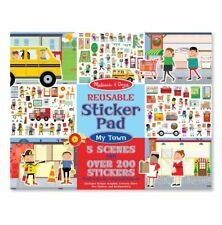 Melissa and Doug 19114 - Reusable Sticker Pad - My Town - NEW!!