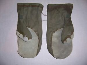 Original US Army Extreme Cold weather Gloves Mittens Waterproof Impermeable MED