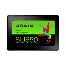 "NEW ADATA Ultimate SU650 960GB SSD 3D NAND 2.5"" SATA3 Laptop Solid State Drive"