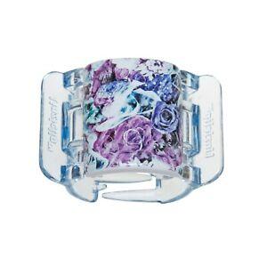 Hair clip patented MIDI Purple Flower linziclip