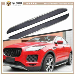 Fits for Jaguar E-Pace E Pace 2017-2021 Door Side Step Running Board Nerf Bar