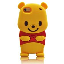 For Apple IPhone 4 3D Winnie The Pooh Character Case Cover