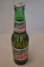 1980's Mountain Dew Longneck Original Fill Bottle 12oz No Deposit