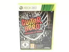 JUEGO XBOX 360 GUITAR HERO WARRIORS OF ROCK X360 5784125