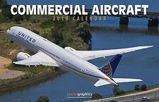 2018 Commercial Aircraft Deluxe Wall Calendar