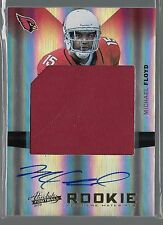 2012 Absolute Football RPM Auto Jumbo Event Worn Jersey Rc Serial # 3/25 RARE
