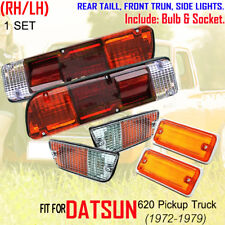 DATSUN 620 TRUCK 1 SET 6 PCS SIDE MARKER TURN TAIL LIGHTS LAMP PAIR 72 73 74-79