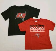 Tampa Bay Buccaneers 3T Toddler Tee Shirt Combo Pack - Red | Grey | NWT