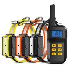 Automático 1000M Eléctrico Perro Choque Collar LCD Adiestramiento Entrenamiento