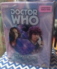More details for doctor who: key to time, limited edition boxset, multiple autographs, vgc