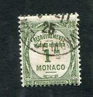 Timbre Taxe MONACO oblitéré YT n° 13 Olive 1 c. - 1924/25