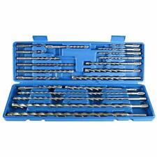 20pcs SDS Plus Rotary Hammer Drill Bits Concrete Masonry Hole Tool Set & Case CA