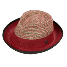 Sydney Men's Women's Summer Braid Wide Brim Fedora Hat