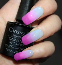 New Nail ArtGlossy-N UV LED Chameleon Color Change Gel Polish Soak Off 5703