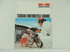 1977 Tsubaki Motorcycle Chains Price List Catalog Suzuki Yamaha Honda L2217
