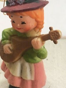 """anne of green gables 3"""" ornament vintage Made In Hong kong"""