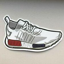 ADIDAS NMD White shoe decal sticker laptop sticker vinyl