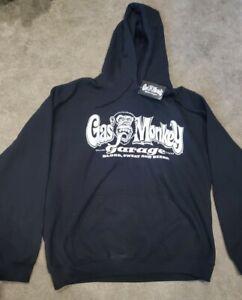 GAS MONKEY GARAGE  Hoodie Sweatshirt Men's Size XL (NEW)