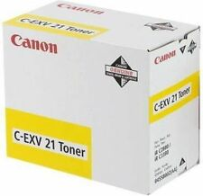 ORIGINAL TONER - CANON C-EXV21 - JAUNE - NEUF