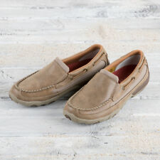 Twisted X Brown Slip On Moccasin
