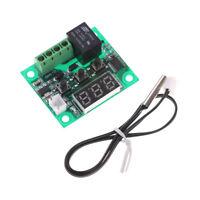 DC 12V  W1209 Digital Thermostat Temperature Control Switch Sensor Blue PT