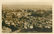 Czech R. Prague Hradcany panorama photo postcard