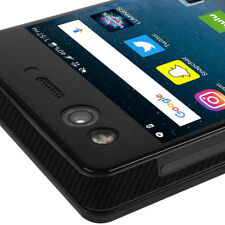 Skinomi TechSkin - Carbon Fiber Skin & Screen Protector for ZTE Axon M